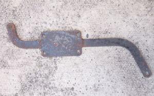 BSA A65 1971/72  OIF Firebird Scrambler Silencer mounting bracket 71-2618