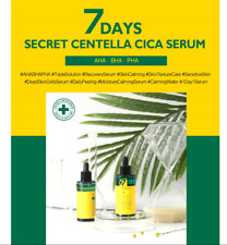 MAY ISLAND 7 Days Secret Centella Cica Serum AHA·BHA·PHA, Whitening Anti-Wrinkle
