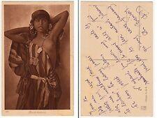 LEHNERT & LANDROCK,Mädchen Orient Bedouine Arab girl Ethnic Type c1910