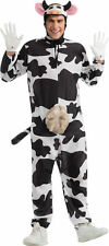 Comical Cow Adult Costume Animal Theme Party Rubber Udder Comical Funny Mascot