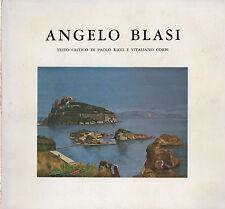 PITTURA NAPOLETANA del 900: ANGELO BLASI Testo critico di Paolo Ricci e V. Corbi