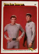 STAR TREK - MOVIE - Card #82 - DUO FOR DANGER - TOPPS 1979