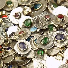 200 real Jeweled COINS Tribal Belly Dance Kuchi - MIXED (( polished ))