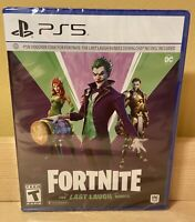 Fortnite The Last Laugh Bundle PlayStation 5 PS5 Brand New No Disc Edition