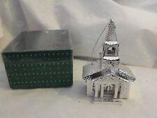 Kurt S. Adler Metal Church Christmas Ornament/Light Cover, Gently Used, /w Box