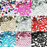 1000 SQUARE Rhinestones Acrylic Gems Flat silver back Nail art Cardmaking Crafts