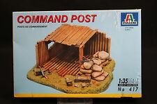 XZ020 ITALERI 1/35 maquette 417 Command Post diorama poste commandement 1994