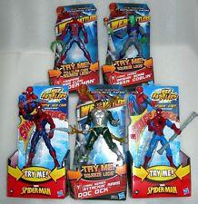 """Spider-Man Web Battlers 6"""" Action Figure - Doc Ock, Green Goblin - Asst - Nip"""