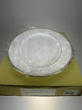 "Noritake Rochelle Platinum Platter Small 12"" NEW IN BOX Bone China Japan"