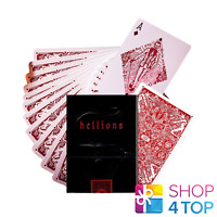 RED HELLIONS ELLUSIONIST PLAYING CARDS DECK MADISON MAGIC TRICKS NEW