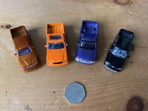 Toy Bundle Of 4 Pick Up Trucks Motor Max & Realtoy