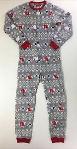 Family PJs Pajamas, Size 10/12.  Large.  Macy's.  Onepiece.  Polar Bears, Warm