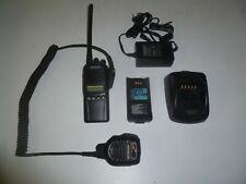 Kenwood Tk-2180-K 136-174 Mhz Vhf Two Way Radio w Kmc-41 Mic & Charger Tk-2180