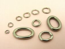 STAINLESS STEEL Open JUMP RINGS Findings 3MM~18MM ~Round/ Oval/ Irregular Style~
