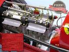 SMC Cloth Plug Wire Monogram Revel Lindberg 1/8 Scale Bid Deuce T Red/Black
