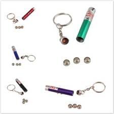 Mini LED Camping Flashlight Torch Keyring Portable Key Chain Aluminum Alloy G