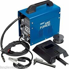 Mig 90 Welding Machine No Gas Mig Welding with Accessory Kit Draper 32728