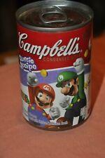 Campbell's Nintendo Super Mario Luigi Soup EXPIRED Clever Shape Pasta Chicken