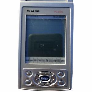 Sharp Wizard OZ-590A Electronic Organizer Synchs W/ Microsoft Office 8MB Memory