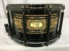"Pearl Masterworks Custom Free Floating 14"" Dia X 8"" Deep Snare Drum/""Cain""/NEW"