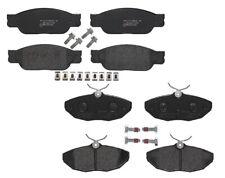 Front Rear Brembo Low-Met Brake Pad Set Kit For Ford Thunderbird Jaguar Lincoln