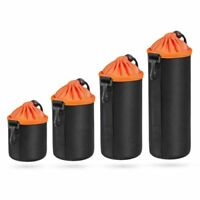 Waterproof Neoprene DSLR Camera Lens Soft Protector Pouch Case Bag Size S M L XL