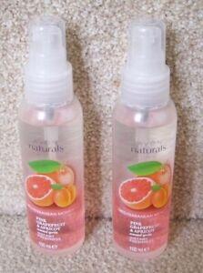 2 x Avon  Scented Spritz Pink Grapefruit & Apricot Home/Linen/Body  Spray