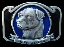 ROTTWEILERS DOG ANIMALS DOGS HOUSE PROTECTION PET BELT BUCKLE BOUCLE DE CEINTURE