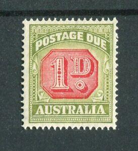 Australia KGVI 1938 Postage Due 1d carmine & green SG.D113 MNH