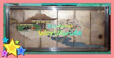 LARGE VINTAGE CHINA CHINESE JAPANESE SCREENS PANELS PICTURES PAINTINGS