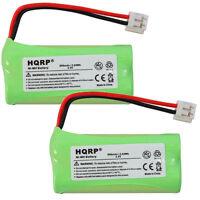 2x HQRP Batterie de Téléphone pour At&t CL82309 CL82359 CL82409 CL82509 CL82609