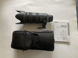 NIKON Nikkor AF-S 70-200mm f/2.8G ED VR II Telephoto Lens ***Mint Condition***