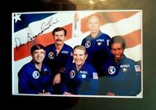 Astronaut Dan Brandenstein  Autographed 4x6 Photo Mounted in  5x7 Mat