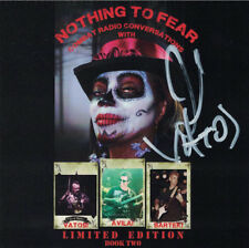 NOTHING TO FEAR Conversations w/ OINGO BOINGO CD Johnny Vatos Autographed MINT!