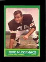 1963 TOPPS #17 MIKE MCCORMACK EXMT SP BROWNS HOF  *XR23371
