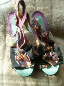 Used Irregular Choice Heels. UK 5 or Eur 38.