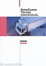 Prospetto Iveco Euro Cargo Tector alimentari-bevande-Trasporti di distribuzione 11/01 D