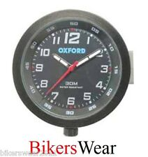 Reloj De Oxford-Negro Alta Impermeable Motocicleta Reloj-OF218B