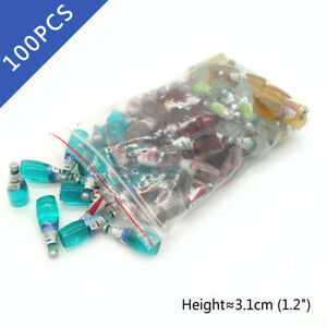 100Pcs Dollhouse Mixed Color Chiaaa Seeed Fruit Juice Drink 1:6 Miniature Model
