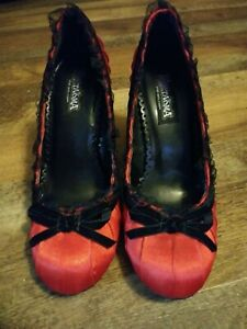 Red Funtasma DAINTY 420 high heel shoes