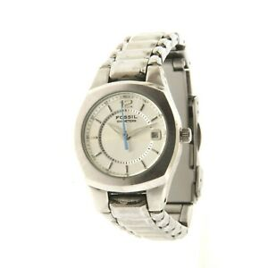 Fossil Ladies Watch AM3918 All Stainless 1x7.25""