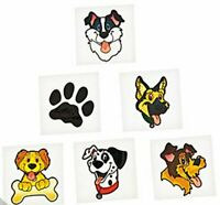 Puppy Temporary Tattoos - Party Bag Fillers - Pack Sizes 6 - 36