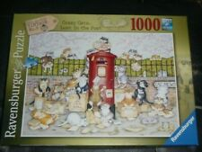 1000 PIECE JIGSAW PUZZLE,CRAZY CATS LOST IN THE POST,LINDA JANE SMITH,2020