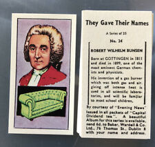 More details for capitol tea baker wardell they gave their  names tea card set scarce complete