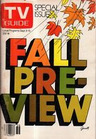 1978 TV Guide Fall Preview-Battlestar Galactica; WKRP; Mork and Mindy; Mary;Taxi