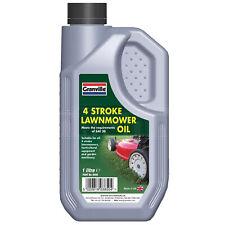 More details for granville 4 stroke lawnmower oil garden machinery oil fluid sae 30 1 litre