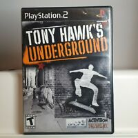 Tony Hawk's Underground 2  ( Playstation 2 PS2  ) Tested