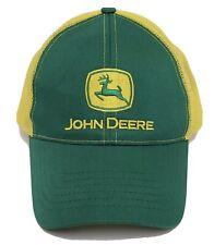 trucker hat baseball cap JOHN DEERE retro snapback cool cloth vintage rare mesh