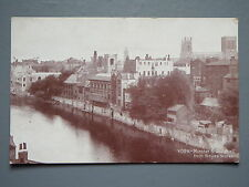 R&L Postcard: York Minster & Guildhall, Delittle Fenwick, W Boyes Store
