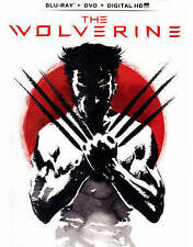 The Wolverine (Blu-ray + DVD + Digital HD with UltraViolet) New DVD! Ships Fast!